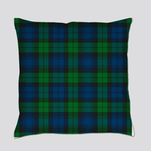Black Watch Tartan Plaid Everyday Pillow