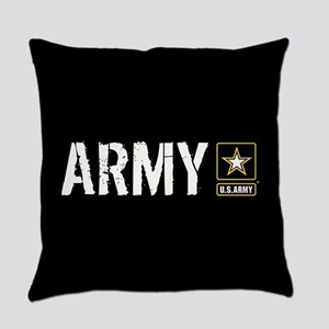 U.S. Army: Army (Black) Everyday Pillow