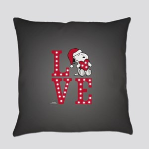 Snoopy Love Everyday Pillow