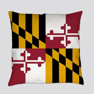 Flag of Maryland Everyday Pillow