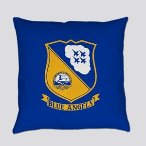 U.S. Navy Blue Angels Crest Everyday Pillow