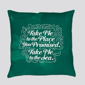 Westworld Take Me To The Sea Everyday Pillow