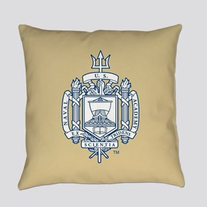 U.S. Naval Academy Crest Everyday Pillow