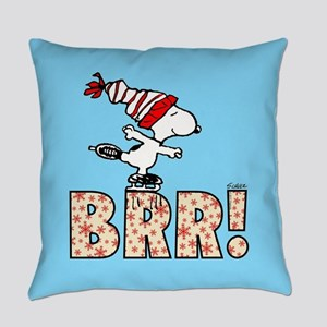 Snoopy Brr! Everyday Pillow