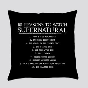 Supernatural Reasons Everyday Pillow