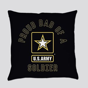 Proud Dad of A U.S. Army Soldier Everyday Pillow