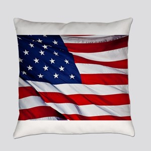 United States Flag in All Her Glor Everyday Pillow