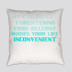 Food Allergy I'm Sorry My Chil Everyday Pillow
