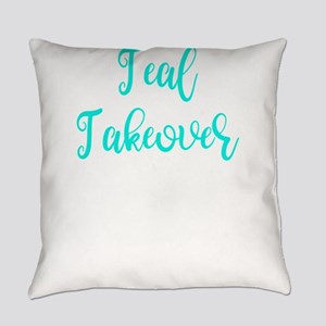 Food Allegy Teal Takeover Everyday Pillow