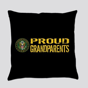 U.S. Army: Proud Grandparents (Bla Everyday Pillow