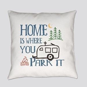 Camper Home Everyday Pillow