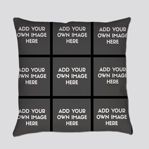 Add Your Own Images Collage Everyday Pillow