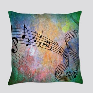 Abstract Music Everyday Pillow