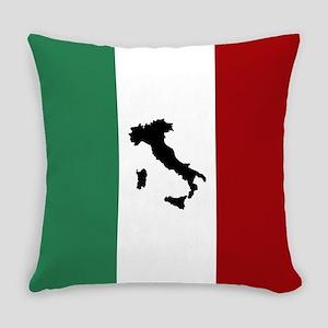Italian Flag & Boot Everyday Pillow