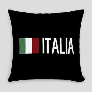Italy: Italia & Italian Flag Everyday Pillow