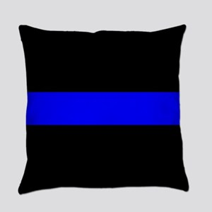 Police: The Thin Blue Line Everyday Pillow