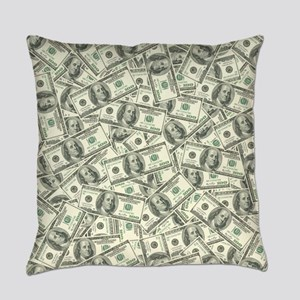 100 Dollar Bill Money Pattern Master Pillow