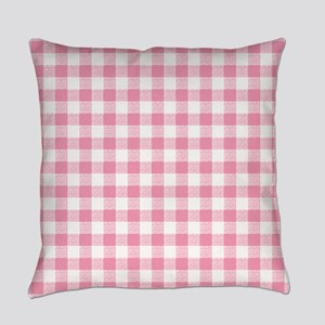 Pink Gingham Pattern Master Pillow
