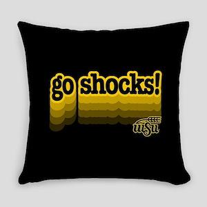 Wichita State Go Shocks Everyday Pillow