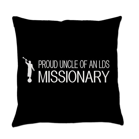 LDS: Proud Missionary Uncle (Black)