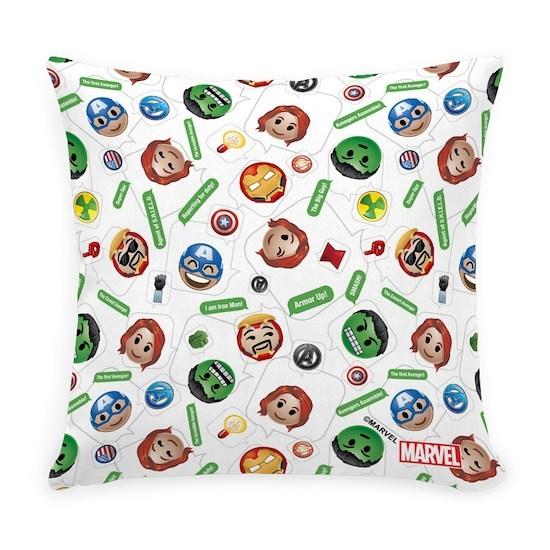 Marvel Emoji Text Everyday Pillow
