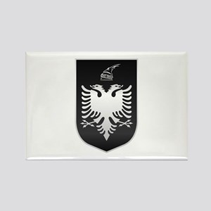 Albanian State Emblem Rectangle Magnet