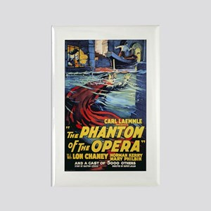 The Phantom Of The Opera Rectangle Magnet