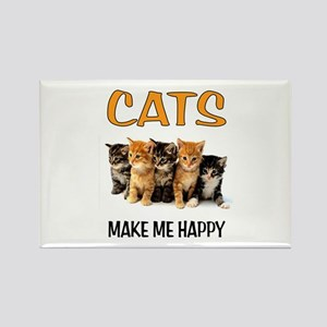 HAPPY CATS Magnets