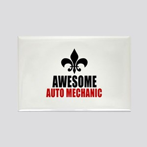 Awesome Auto mechanic Rectangle Magnet