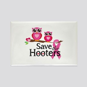 Save the hooters Rectangle Magnet
