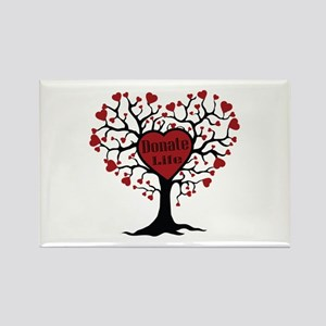 Donate Life Tree Rectangle Magnet