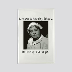 Welcome to Nursing School Rectangle Magnet