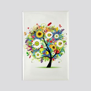 summer tree Rectangle Magnet