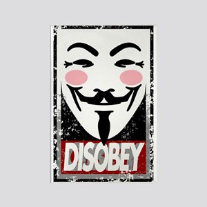 Disobey Rectangle Magnet