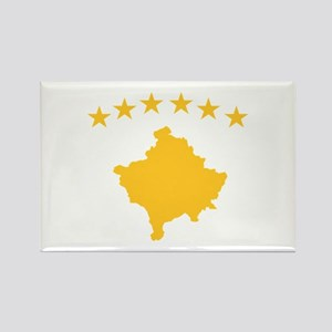 Kosovo Flag Rectangle Magnet