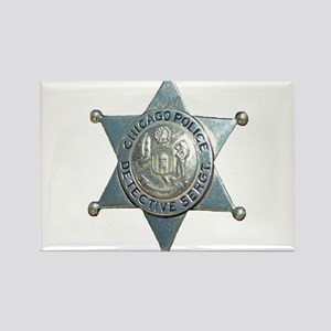 Chicago, Illinois Police Dete Rectangle Magnet