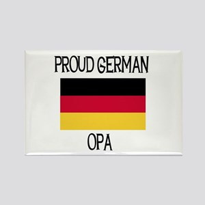 Proud German Opa Rectangle Magnet