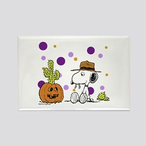 Spikey Halloween Rectangle Magnet