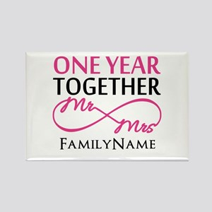 1st anniversary Rectangle Magnet