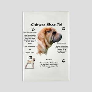 SharPei 1 Rectangle Magnet