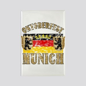 OKTOBERFEST Munich Distressed Rectangle Magnet