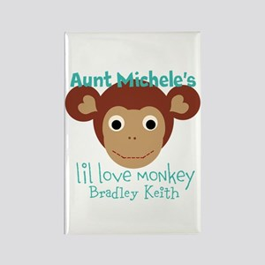 Personalize Love Monkey Magnets