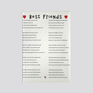 BestFriends-TX Rectangle Magnet