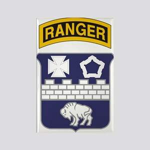 17th Infantry Ranger Rectangle Magnet