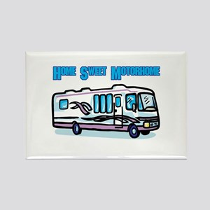 Home Sweet Motorhome Rectangle Magnet