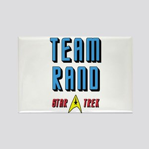 Team Rand Star Trek Rectangle Magnet