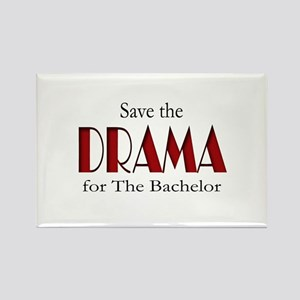 Drama on The Bachelor Rectangle Magnet