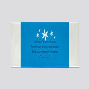 Snowflakes.png Rectangle Magnet