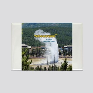 Yellowstone Rectangle Magnet