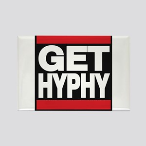 get hyphy lg red Rectangle Magnet